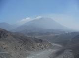 View on the peak